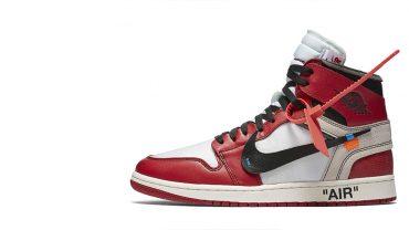 Air Jordan x Off White Nike AJ I 1 Chicago 'The 10 Ten'