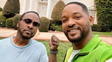 WILL SMITH & JAZZY JEFF TOUR THE FRESH PRINCE BEL-AIR MANSION