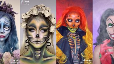 4 HALLOWEEN MAKEUP TIKTOKS TO TRY