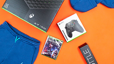 WIN! THE ULTIMATE HYPE. GAMING BUNDLE